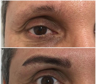 male brows