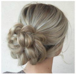 Hair up Do at Passion Salon