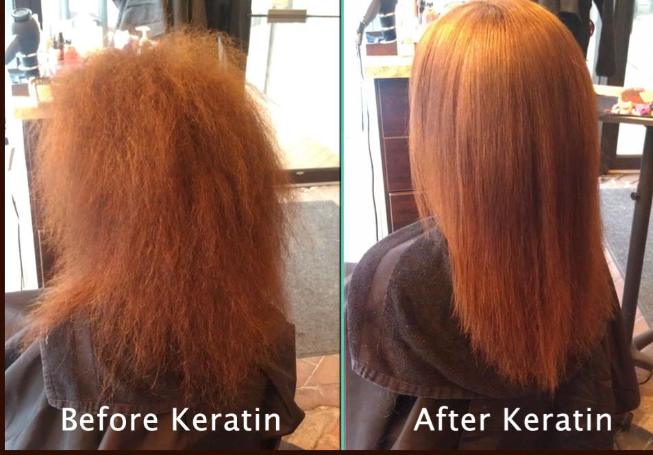 Keratin Straightening Passion Salon