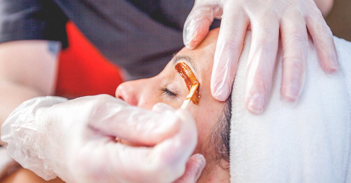 Hot Wax at Passion Salon - No Strips