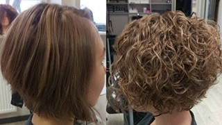 short perm at Passion Salon