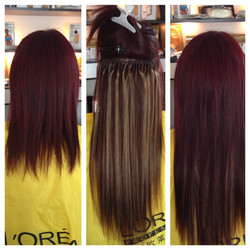 Extensions, colour and length Passion Sa