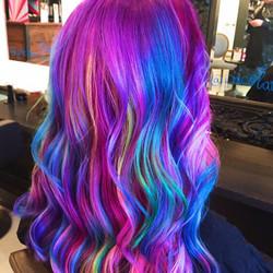 hair colour at Passion Salon