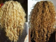 curly colour at Passion Salon