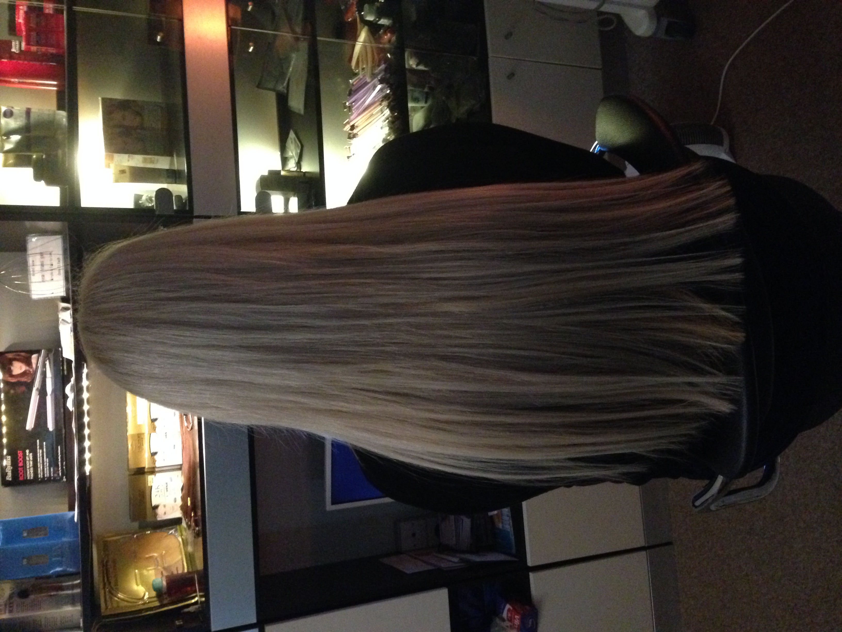 After Extensions by Jay Passion Salon
