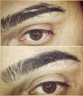Brows- hairstroke