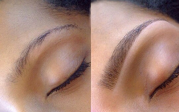 Eyebrow extentions at Body TLC
