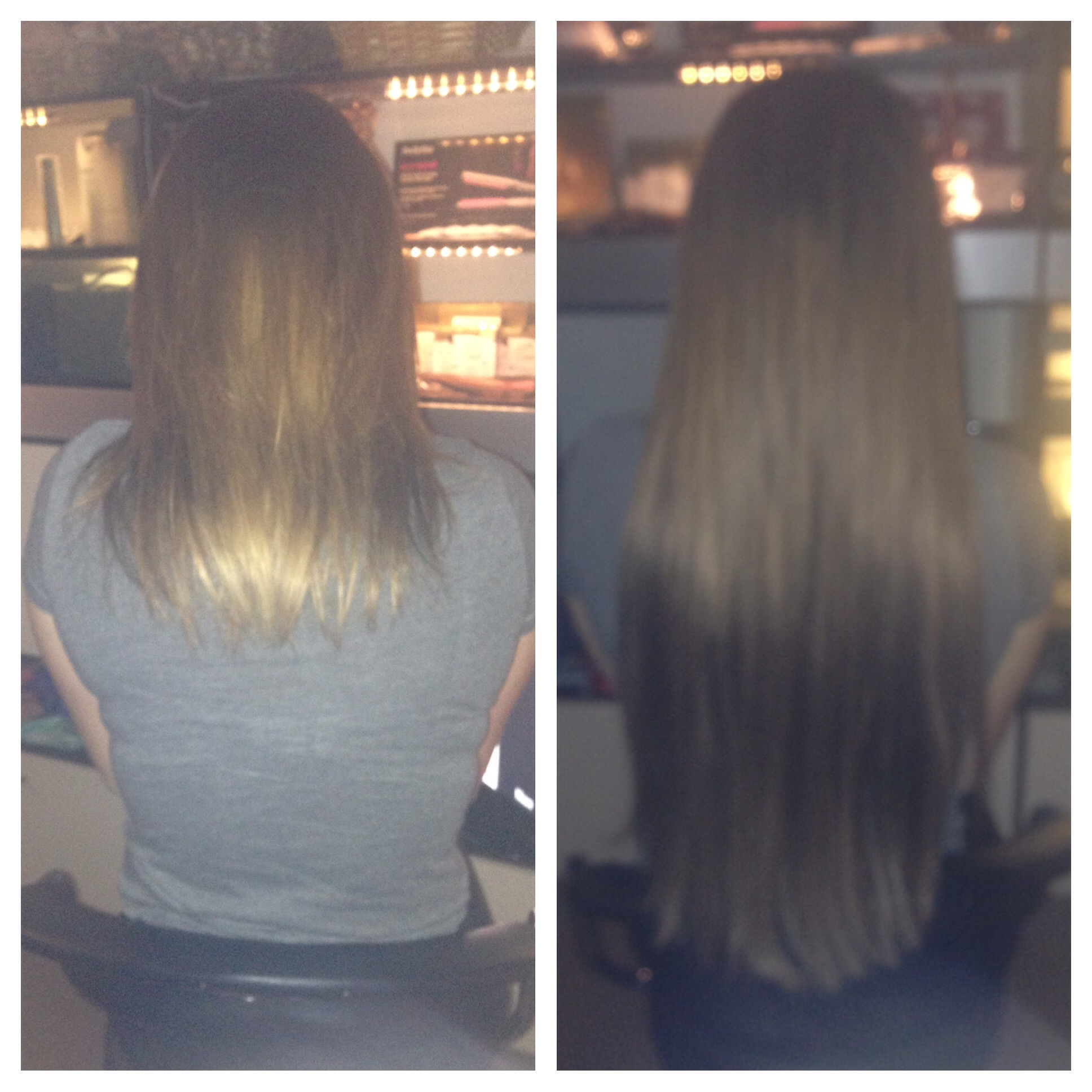 Before and After Extensions Passion Salo