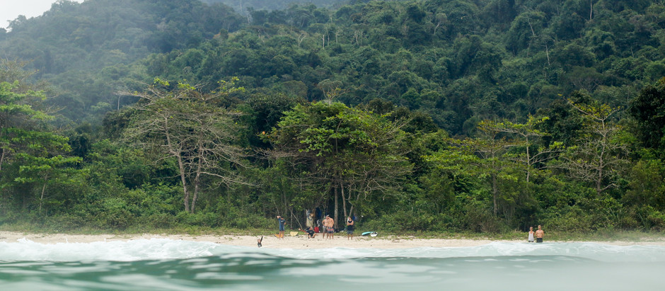 Itamambuca, paraíso de olas