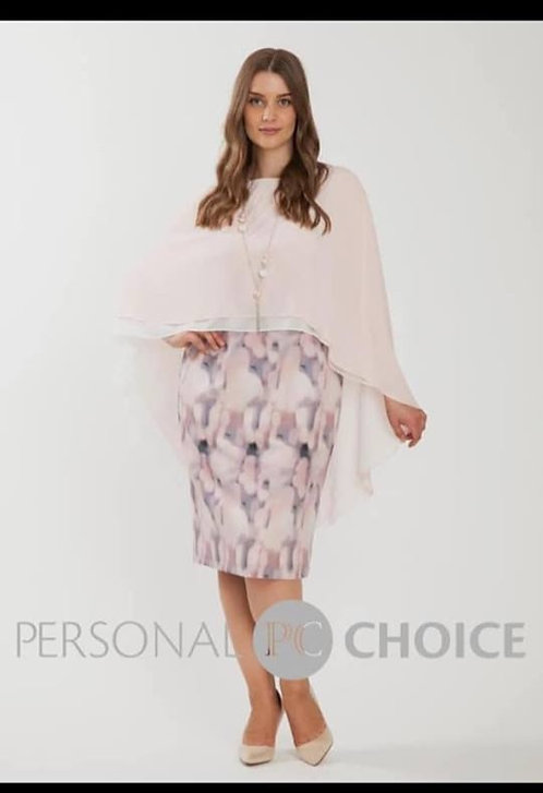 Personal Choice Pink and Grey Dress