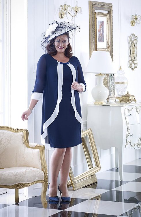Veromia Dressed Up Navy/Ivory Outfit