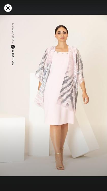 Personal Choice  dress with chiffon coat