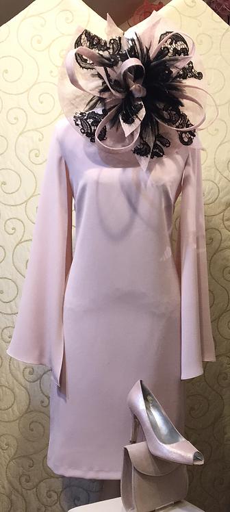 Frank Lyman Pale Pink Shift Dress
