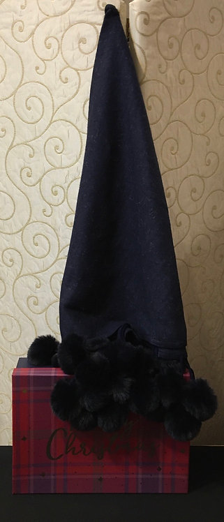 Navy blue Shawl with gift box
