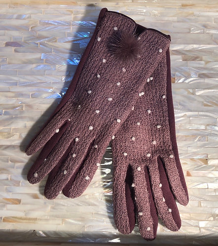 Light Plum Gloves