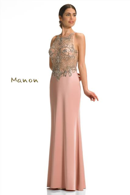 Rose Pink Full Length Dress