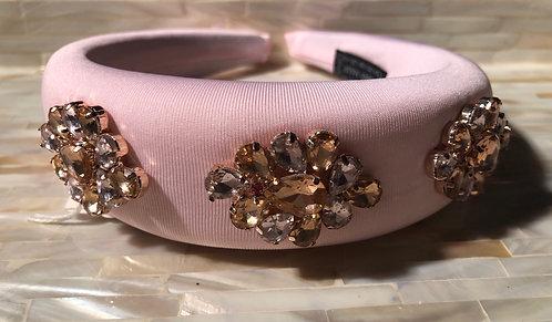 Pink Embellished Headband