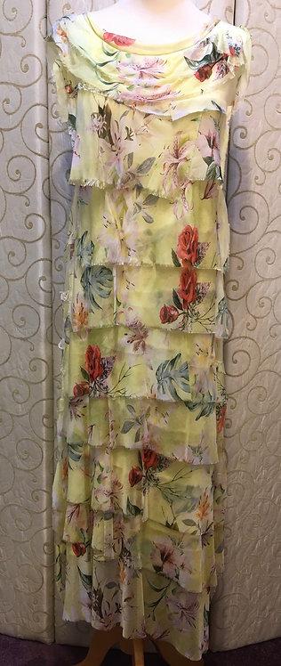 Silk floaty summer dress
