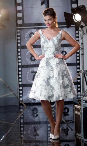 Veromia Occasion Silver Dress