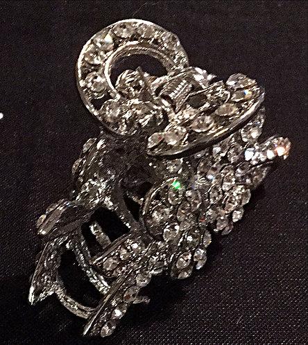 Hair Clip Small Diamante