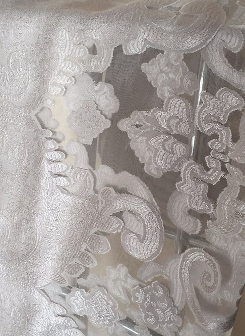 Silver/ Grey Wrap, Cover, Sarong