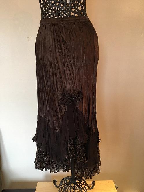 Tia floaty pleated skirt
