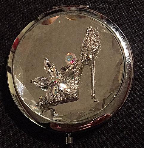 Shoe Compact Mirror