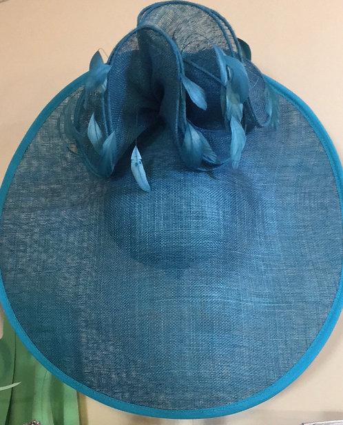Turquoise Fascinator