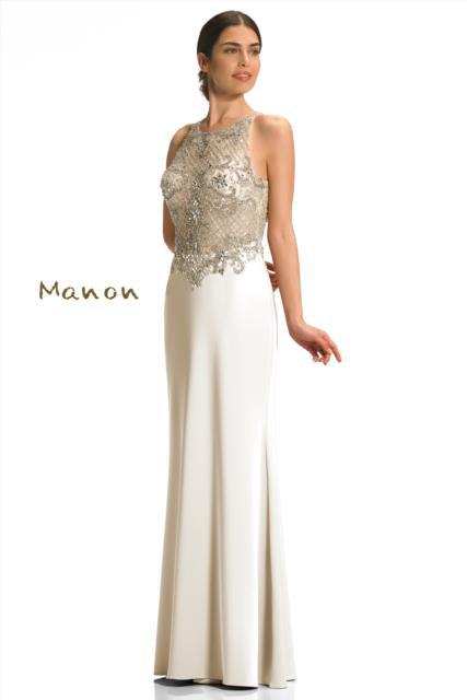 Ivory Full Length Dress