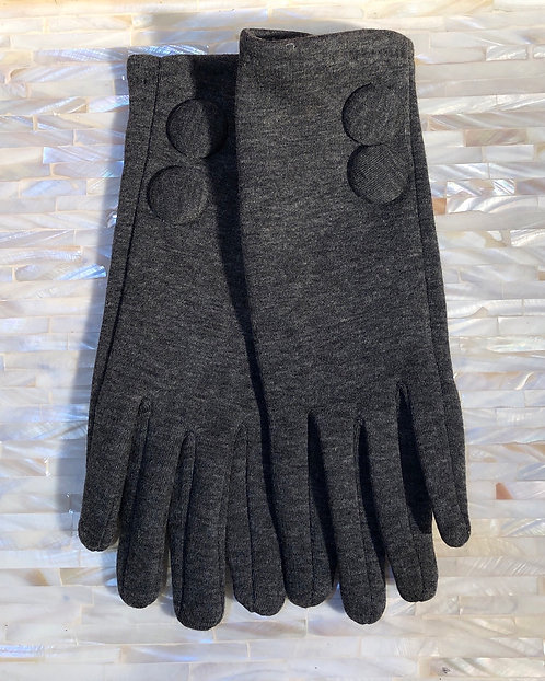 Grey Fabric Gloves