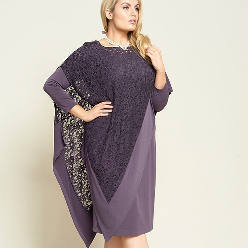 Personal Choice Heather Dress and Overtop