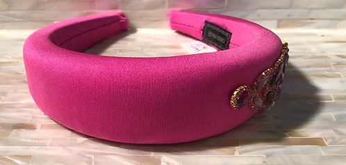 Fushia Embellished Headband