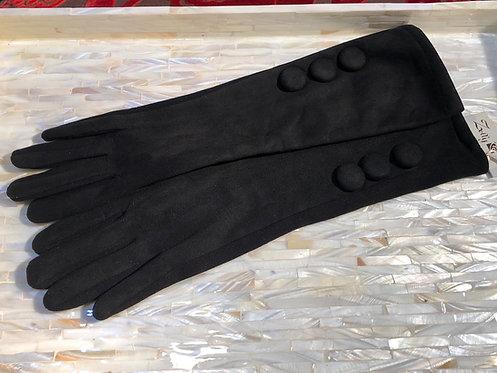Black longer length Glove