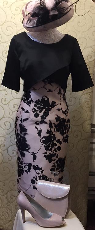 Ella Boo Satin print dress