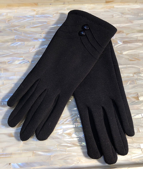 Black Fabrix Gloves