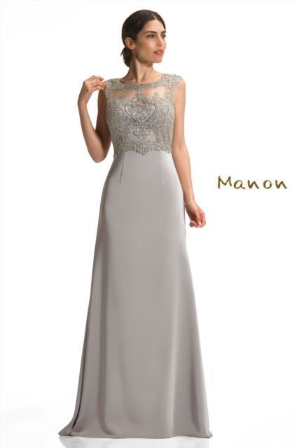 Taupe Full Length Dress