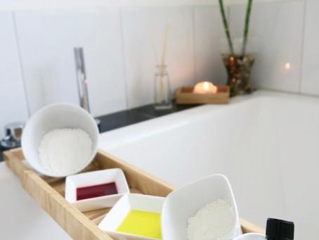 DIY Geschenkidee: blubbernde Badekugeln