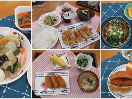 今月の昼食 ベスト5