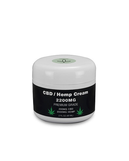 CBD HEMP CREAM2200MG