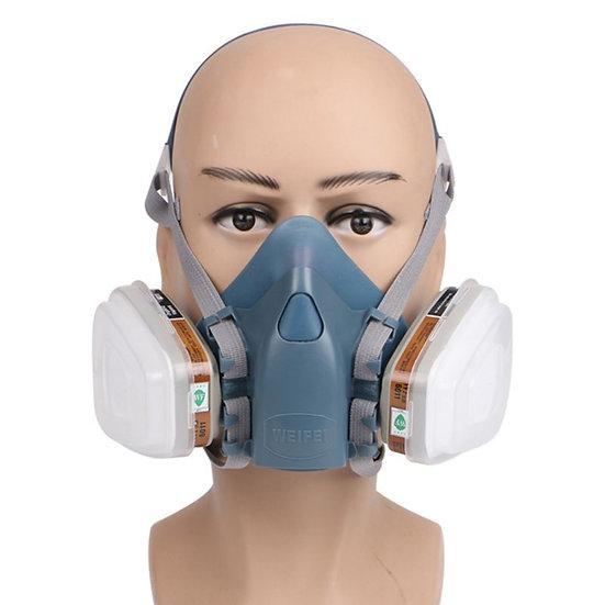 Full Facemask Respirator Painting Spraying Face Gas Mask