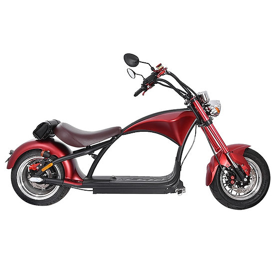 Electric Motorcycle R Vintage  Electric Scooter 60V 20AH Fat Tire Motorcycle