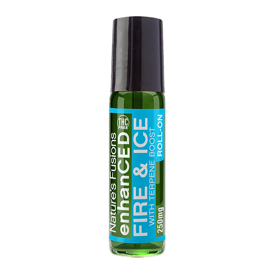 Fire & Ice, Roll-On W/ THC-Free Hemp - 250mg