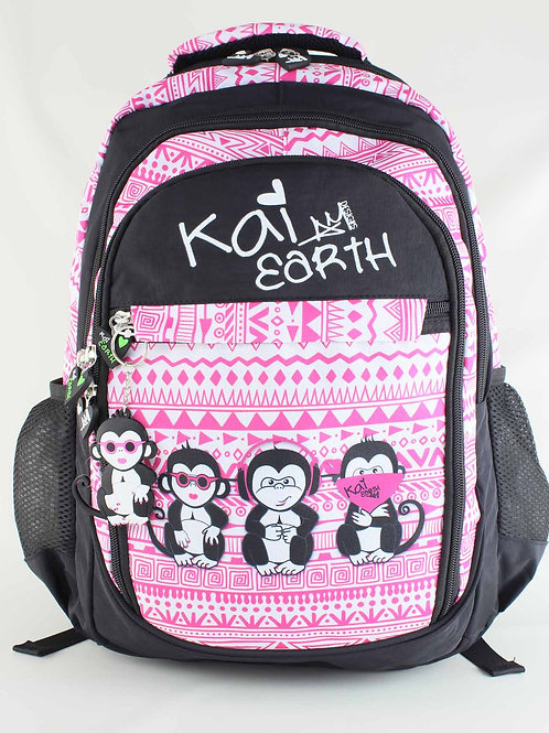 Kai Earth Naughty Monkeys Backpack