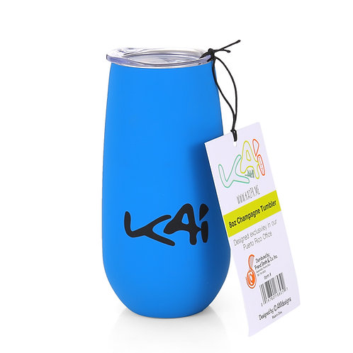 90's Kid Blue Insulated Champagne Cup