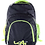 Thumbnail: Kai Essentials Backpack - Black & Neon Yellow