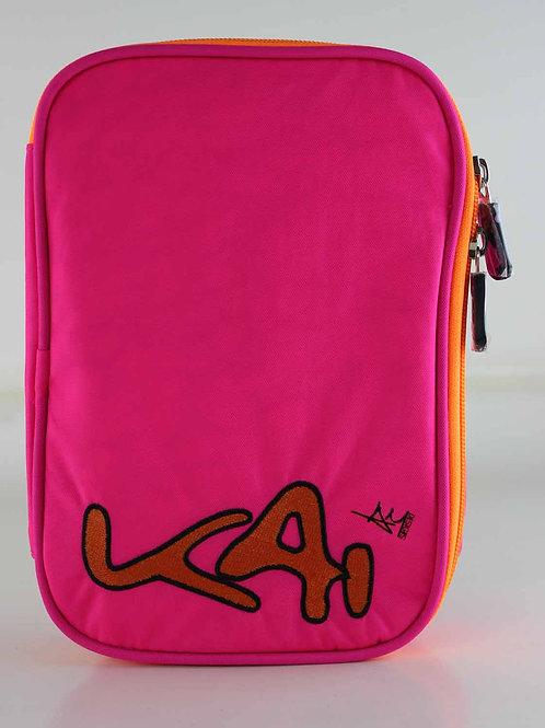 Kai Essentials Large Pencil Case - Pink