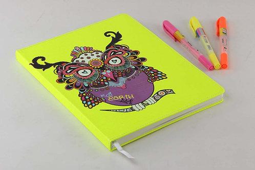 Kai Earth Heartsy Owl Journal