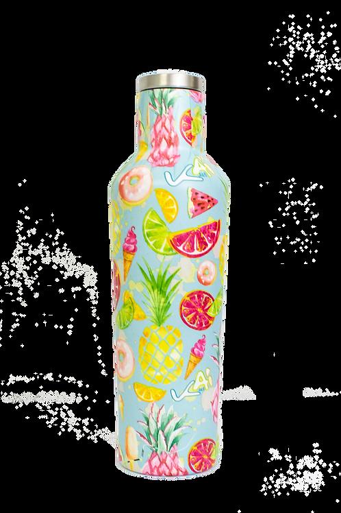 Piña Colada 16oz Insulated Water Bottle
