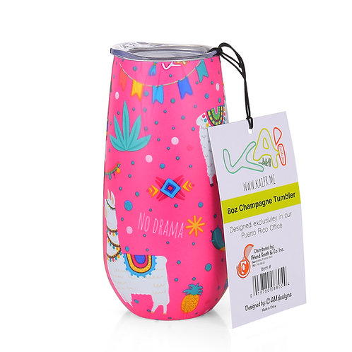 No Drama Llama Insulated Champagne Cup