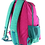 Thumbnail: Kai Essentials Backpack - Pink & Turquoise
